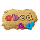 Learning Resources Lowercase Alphabet Sand Moulds
