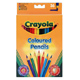 Crayola Half Length Coloured Pencils 12 Pack