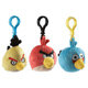 Angry Birds Back Pack Clips (Assortment)