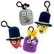 Bin Weevils Back Pack Clips YELLOW, DOSH