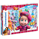 Clementoni Masha and The Bear Supercolor Jigsaw…