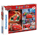 Clementoni Disney Cars Supercolor 3 x 48 Piece…