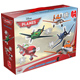 Jumbo Disney Planes 4 in 1 Shaped Puzzles
