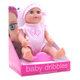 Dolls World Baby Dribbles 25cm