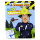 Fireman Sam Copy the Stickers Colouring Book