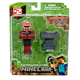 "Minecraft 3"" Action Figures Series #2 BLACKSMITH…"