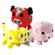 "Minecraft 7"" Soft Toy Animal Mobs BABY OCELOT"