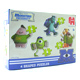 Jumbo Monsters University 4 in 1 Shaped Puzzle