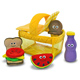 Melissa & Doug First Play Picnic Basket Fill…