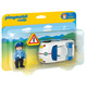 Playmobil 1.2.3 Policeman & Police Car