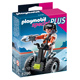 Playmobil Top Agent with Balance Racer