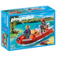 Playmobil Wild Life Inflatable Boat with Explorers