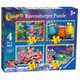 Ravensburger Clangers 4 in a Box Jigsaw Puzzle