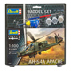 Revell AH-64A Apache Model Set (Level 3) (Scale…