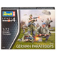 Revell German Paratroops (WWII) (Level 4) (Scale…