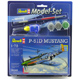 Revell P-51D Mustang Scale 1:72 Model Set