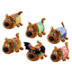 Scooby Doo Stackable Soft Toy HOTDOG SCOOBY