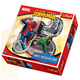Trefl Spiderman 220 Piece Round Puzzle