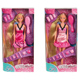 Steffi Love Ultra Hair Doll DARK PINK DRESS