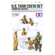 Tamiya U.S. Tank Crew Set of 6 Figures Model Set…