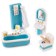 Tidlo Toys Wooden Bathroom
