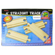 "Toys for Play Wooden Railroad 4"" Straight Track (4…"