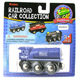 Toys for Play Wooden Railroad Blue Steam…