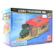 Toys for Play Wooden Railroad Double Track Engine…