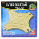 Toys for Play Wooden Railroad Intersection Track