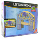 Toys for Play Wooden Railroad Lifting Bridge