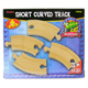 Toys for Play Wooden Railroad Short Curved Track…