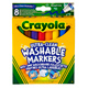 Crayola Ultra Clean Washable Broad Markers Pack of…